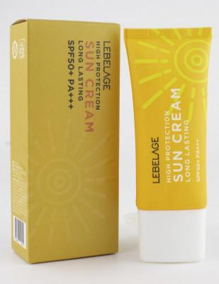 Крем солнцезащитный длительного действия Lebelage High Protection Long Lasting Sun Cream 30 мл: фото