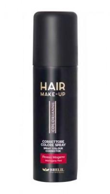 Спрей-макияж для волос Brelil Hair Make-Up Colorianne красный 75 мл: фото