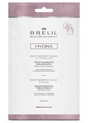 Экспресс-маска для волос увлажняющая BRELIL BIOTREATMENT HYDRA MOISTURIZING TERTAMENT 35мл: фото