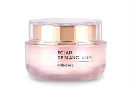 Крем с минеральной водой термальных источников DEOPROCE ESTHEROCE ÉCLAIR De Blanc Cream 50мл: фото