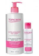 Набор Topicrem Gift Set: Молочко ультра-увлажняющее 500 мл + Мягкая мицеллярная вода 100 мл в подарок: фото