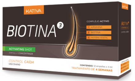 Концентрат против выпадения волос в ампулах Kativa Biotina 12шт*4 мл: фото