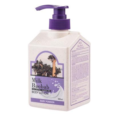 Лосьон для тела с ароматом детской присыпки Milk Baobab Original Body Lotion Baby Powder 500мл: фото