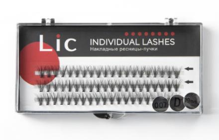 Ресницы-пучки накладные Lic Individual Lashes 10 mm: фото