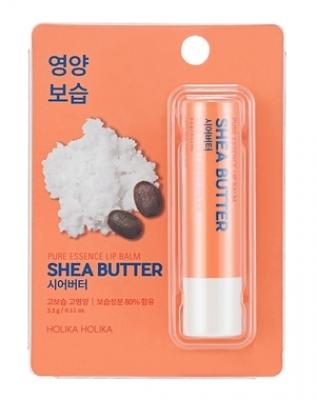 Бальзам для губ с маслом ши Holika Holika Pure Essence Shea Butter Lip Balm 3,3 г: фото