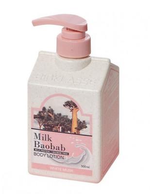 Лосьон для тела с ароматом белого мускуса Milk Baobab Original Body Lotion White Musk 500мл: фото