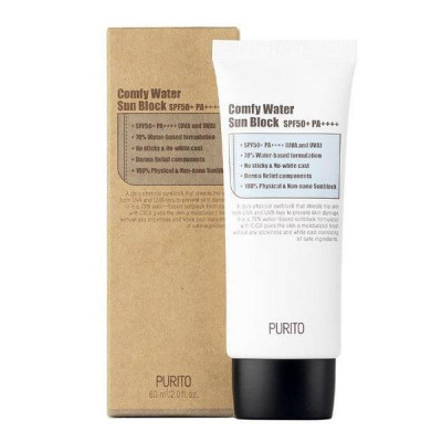 Солнцезащитный крем PURITO Comfy Water Sun Block SPF50+ PA++++ 60мл: фото