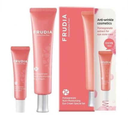 Подарочный набор питательных кремов для глаз с экстрактом граната Frudia Pomegranate Nutri-Moisturizing Eye Cream Special Set 40 мл+10 мл: фото