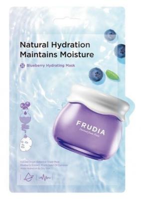 Увлажняющая тканевая маска с черникой Frudia Blueberry Hydrating Mask 20 мл: фото