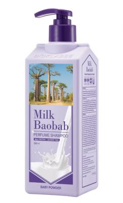 Шампунь для волос с ароматом детской присыпки Milk Baobab Perfume Shampoo Baby Powder 500 мл: фото