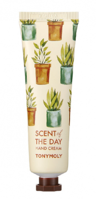 Крем для рук c экстрактом бергамота, розы, жасмина, ванили, мускуса TONY MOLY SCENT of THE DAY HAND CREAM SO COOL 30мл: фото